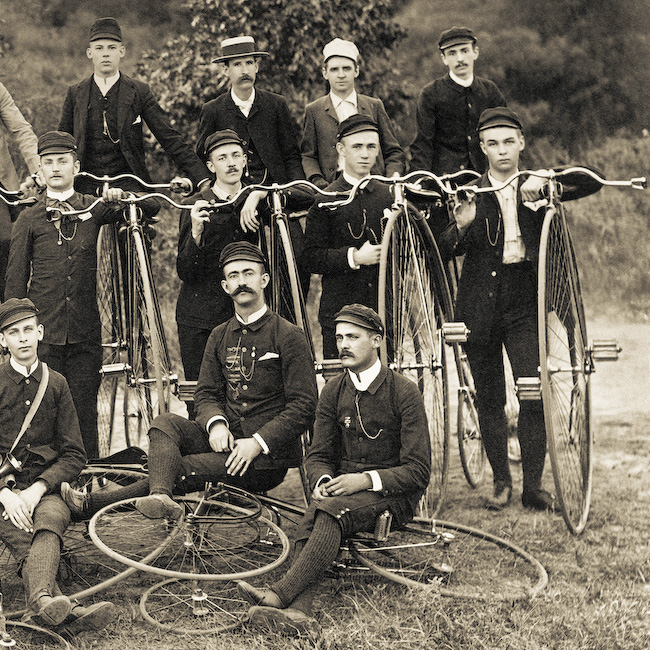 Those weird old bicycles with the huge front tire for Odd victorian names