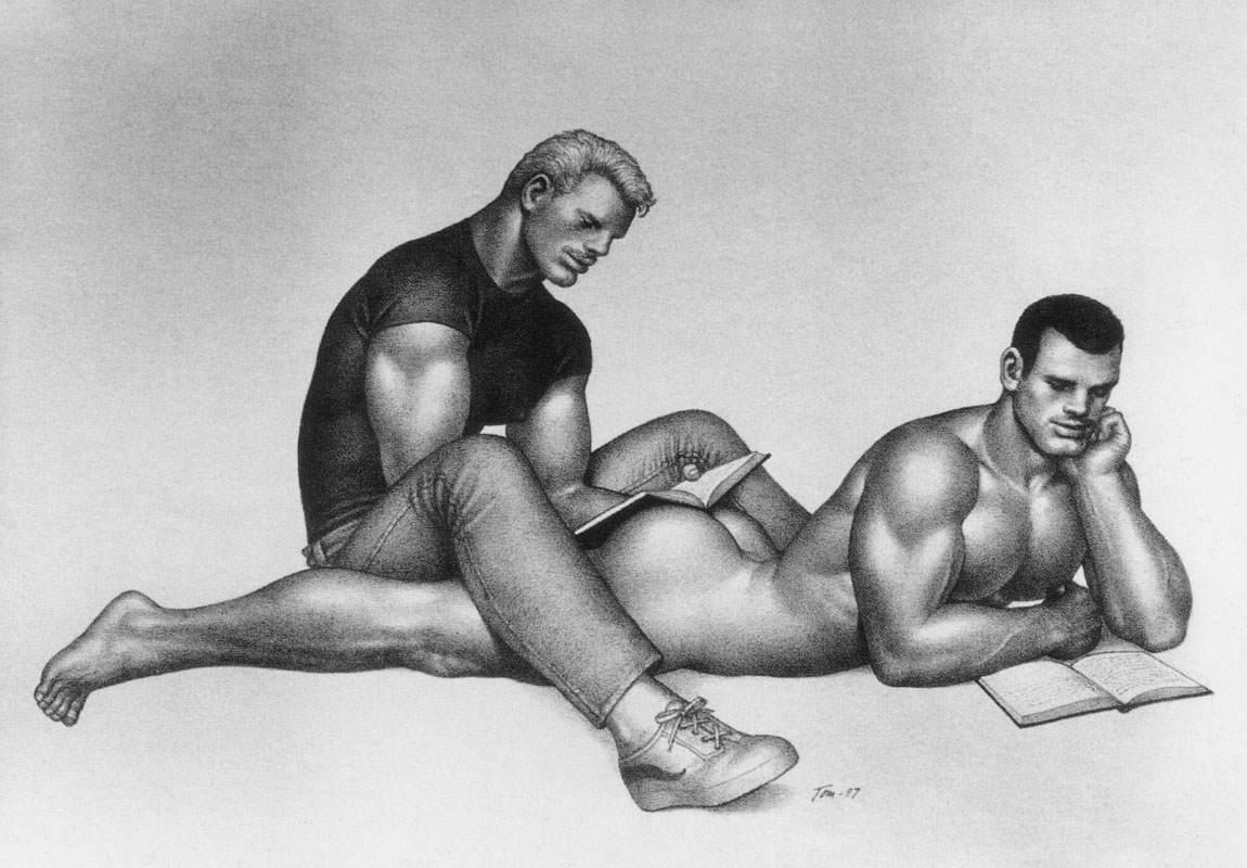 Reading By Tom Of Finland