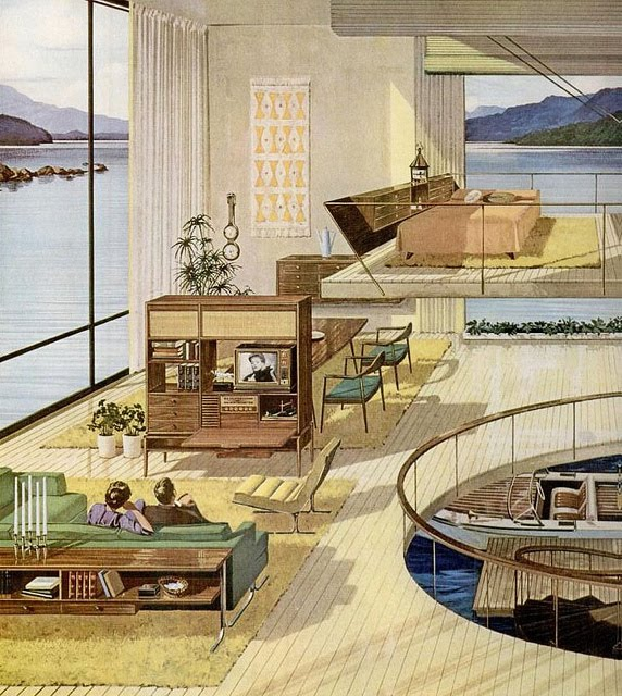 Future concept homes from the past matthew 39 s island of for Concept homes