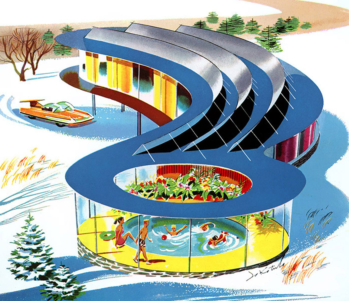 Future Concept Homes From The Past Matthew 39 S Island Of