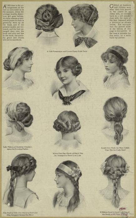 1910 Hairstyles Matthews Island of Misfit Toys