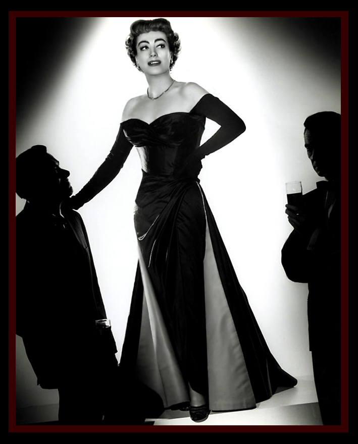 Old Hollywood Dresses – Joan Crawford