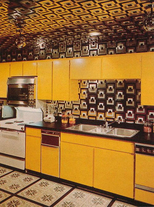 1970s Kitchen Decor | Matthew's Island of Misfit Toys