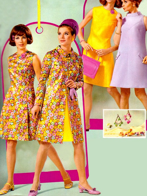 Groovy 60s Fashion When What You Really Want To Do Is Step Out In Your Psychedelic Floral