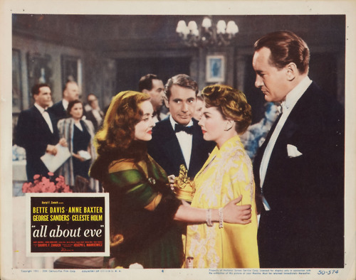 lobby cards for all about eve starring bette davis. Black Bedroom Furniture Sets. Home Design Ideas