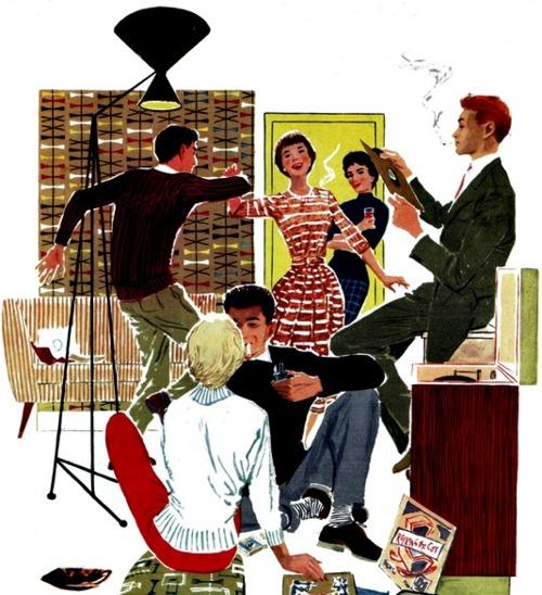 Swingin' 50s party