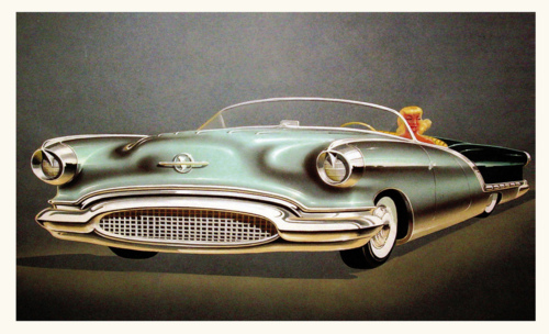 1952 Oldsmobile Concept Car