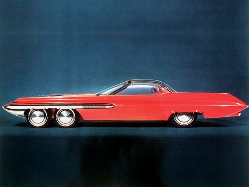 """1962 Ford """"Seattle-ite"""" ConceptCar"""