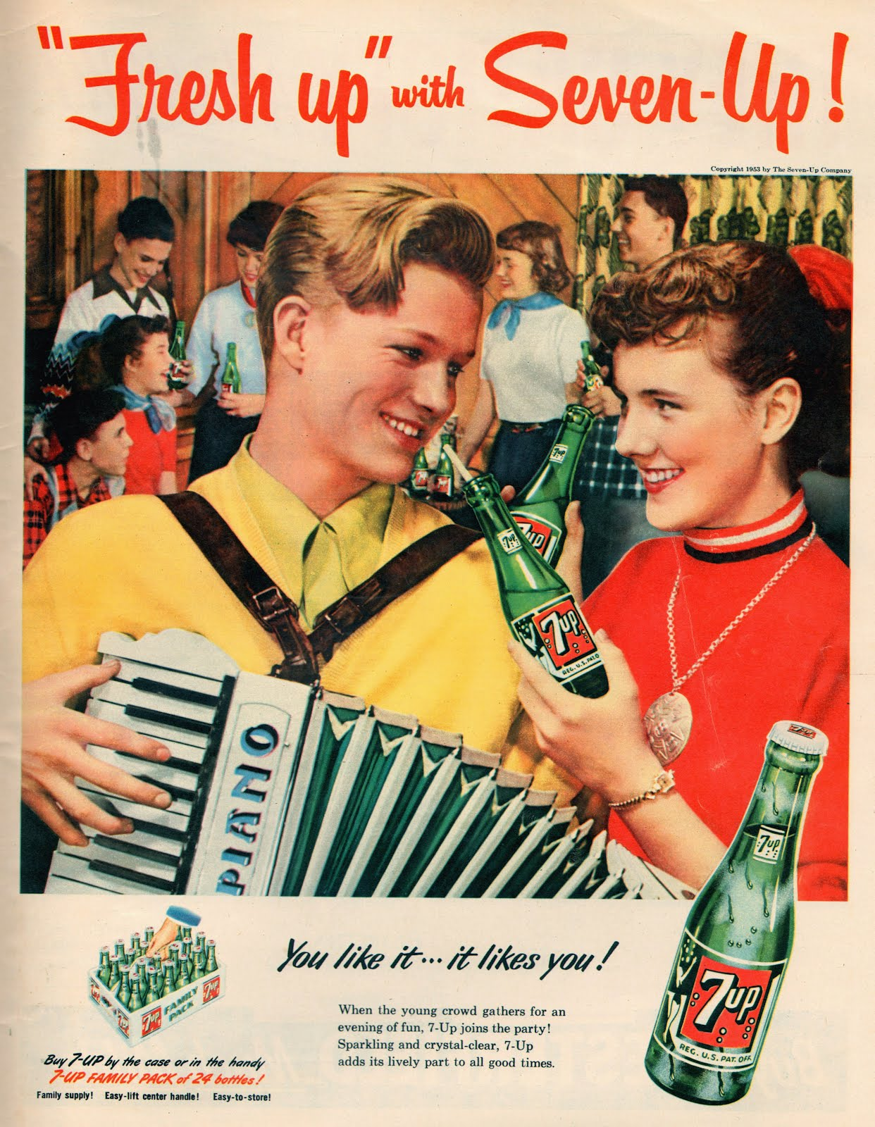 Retro Drive In Ads For Soft Drinks