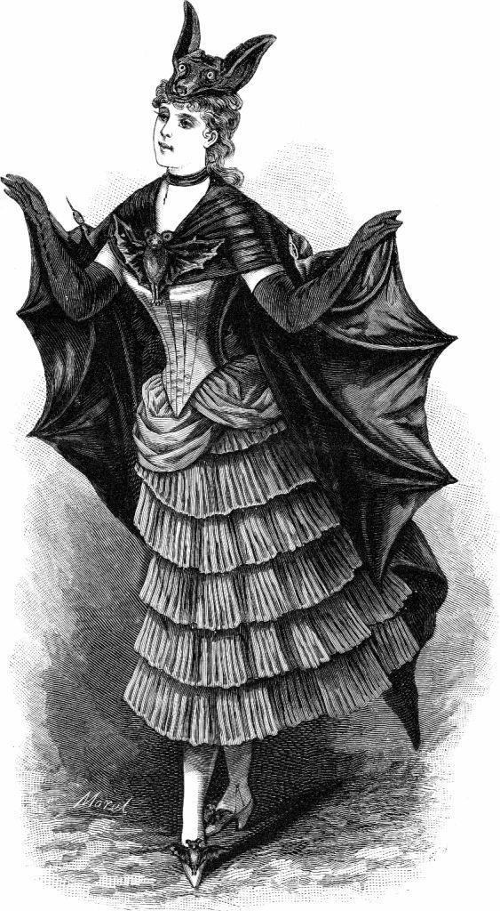 Bat Woman Costume, 1800s