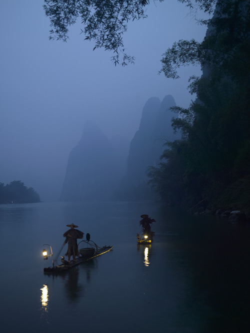 Slow boat in China