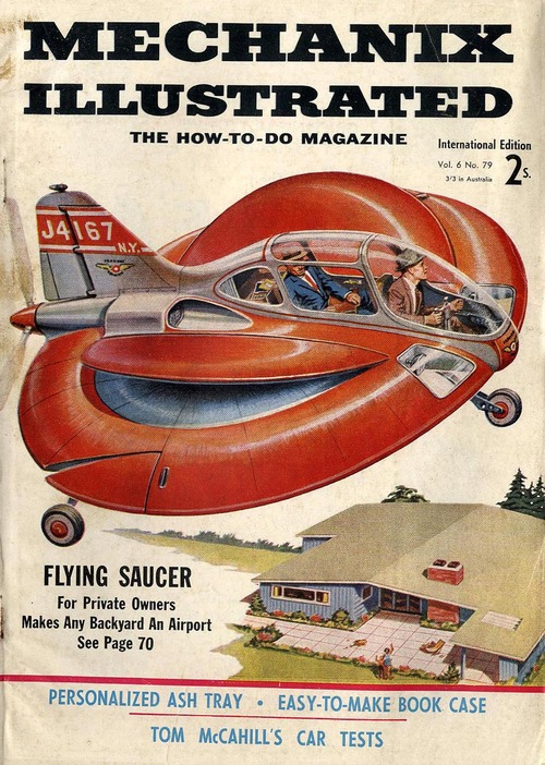Flying saucer, for private owners