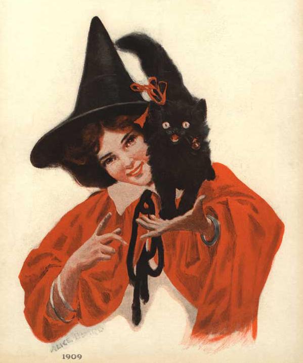 Halloween, 1909
