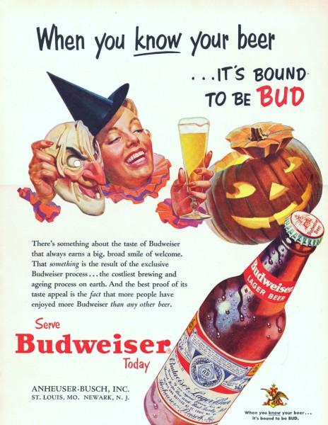Halloween Budweiser