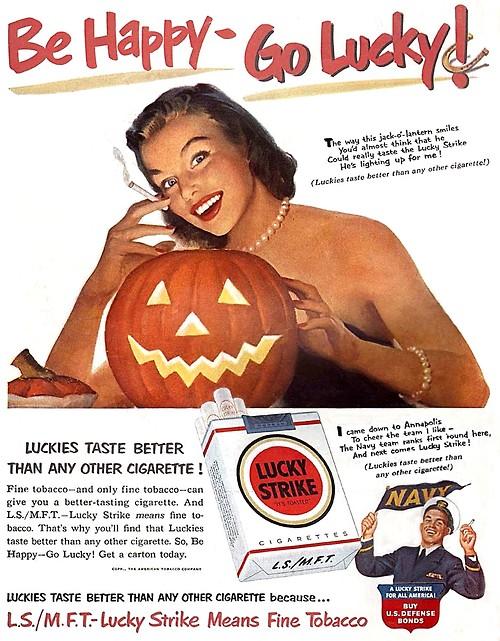 Halloween smokes: Be happy – golucky!