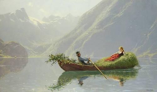 Alpine hay boatromance