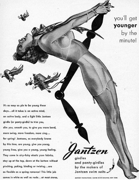 Jantzen girdles – you'll get younger by the minute!