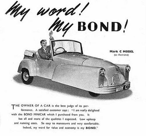 The Bond Mini-Car(British)