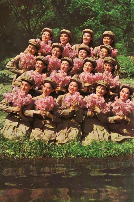 North Korean women