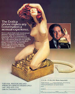 The erotic phone, for the playboy in your life