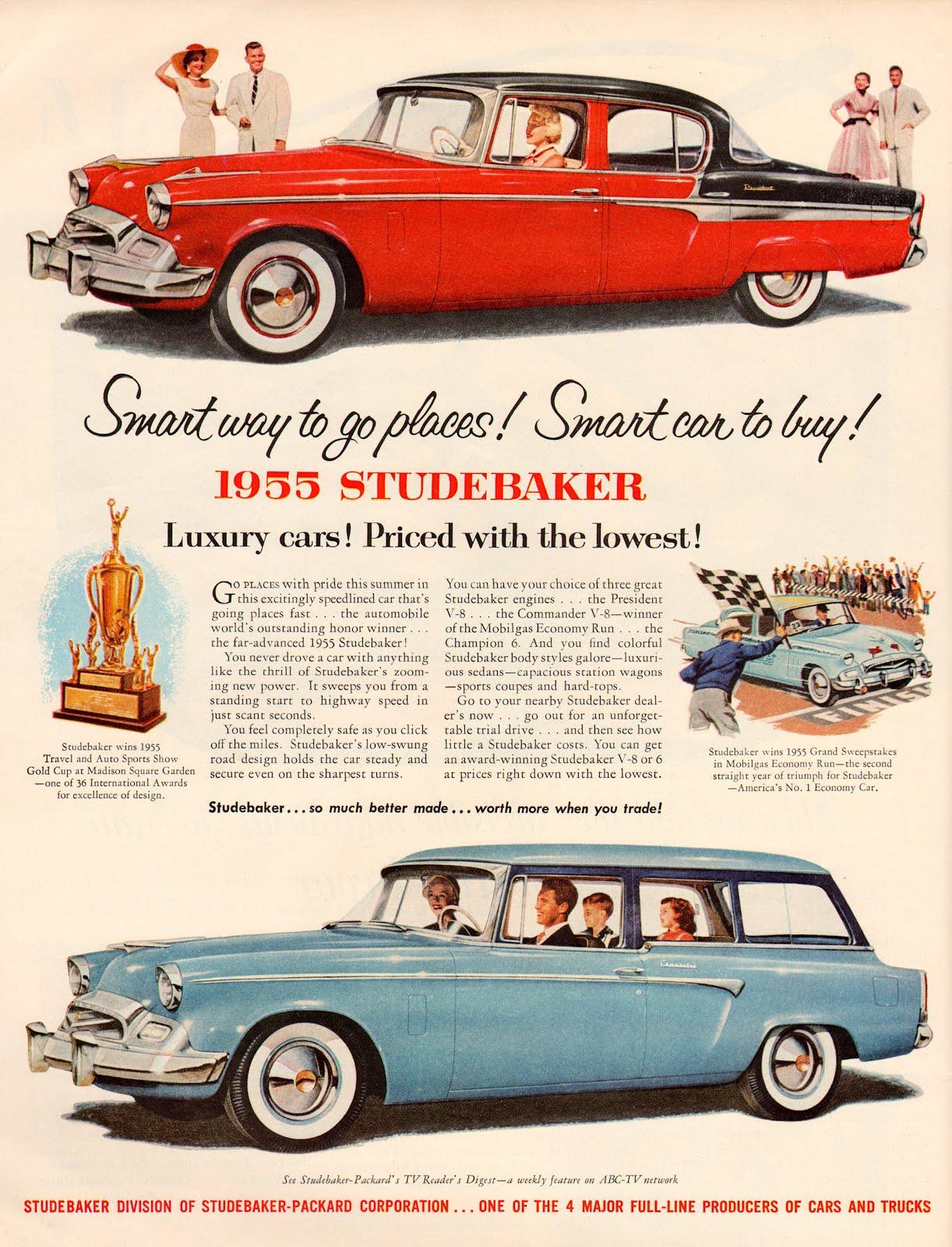 1955 Studebakers
