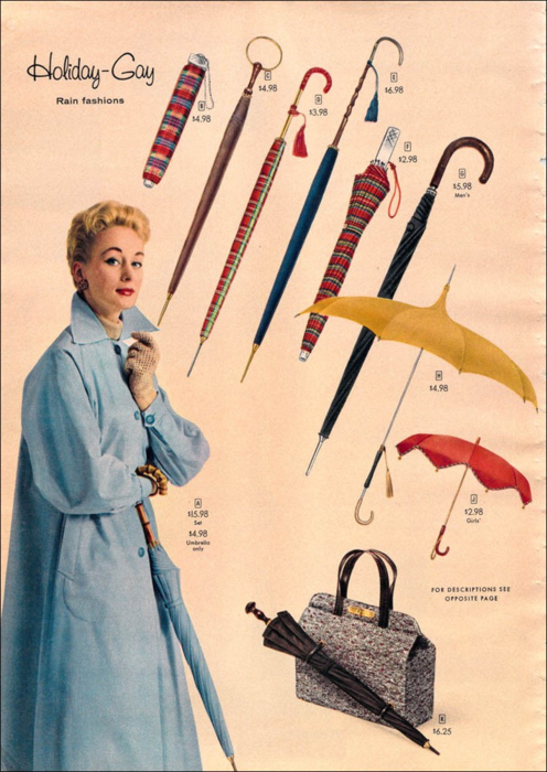 Holiday/Gay Rain Fashions