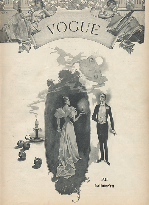 Halloween issue of Vogue, 1893