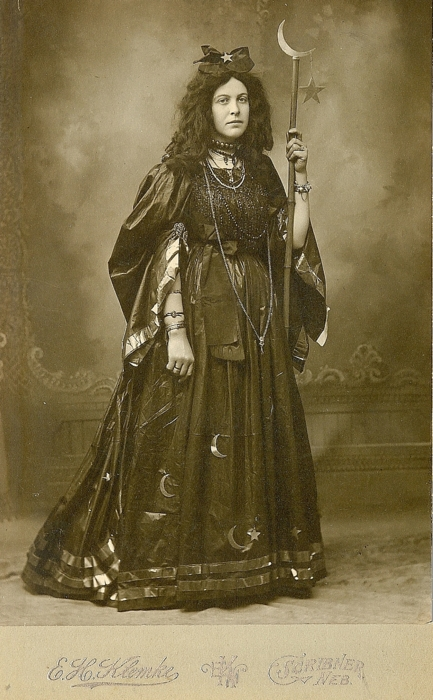 Witch costume, 1800's
