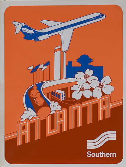 Atlanta via Southern Airlines, 1970s