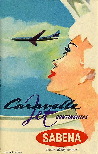 Caravelle Jet, SabenaAirlines