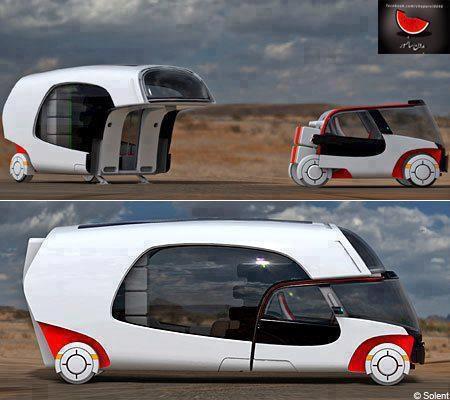 21st century camper – with detachable touring car