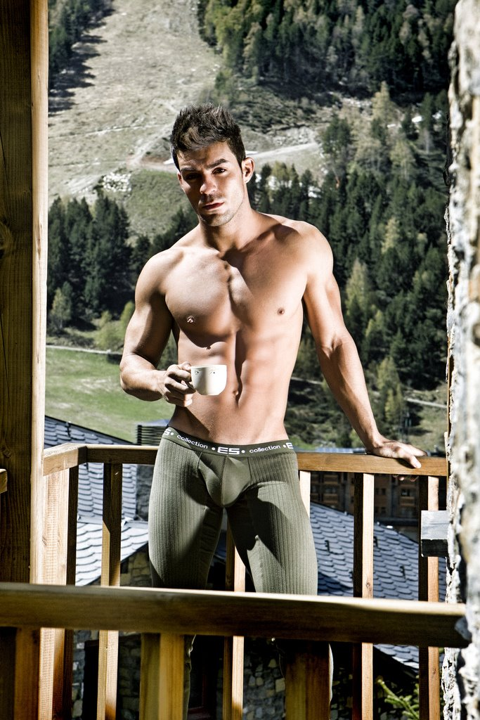 Spanish Underwear Model