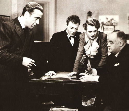 "The final scene of the ""The Maltese Falcon"""