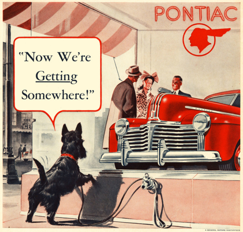 Pontiac, 1940s