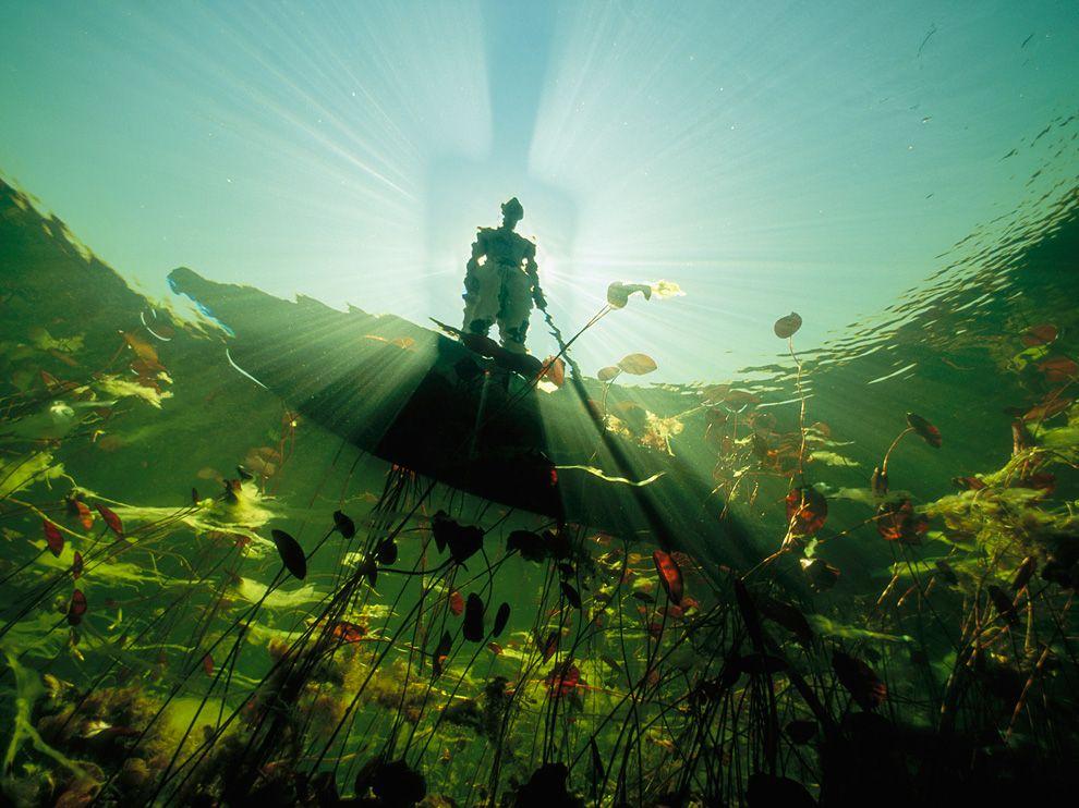 River Fisherman, Botswana