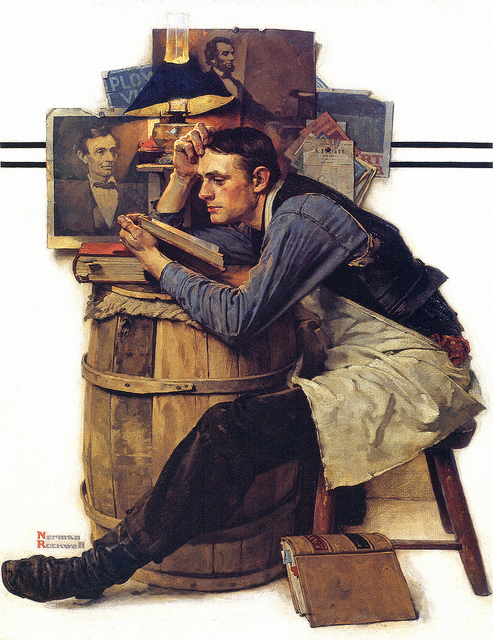 Norman Rockwell: The LawStudent
