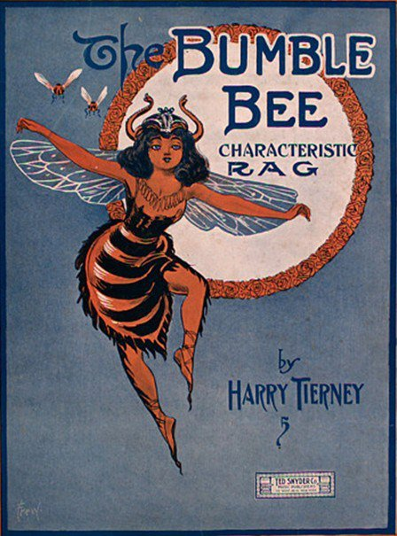 Old sheet music: The Bumble BeeRag