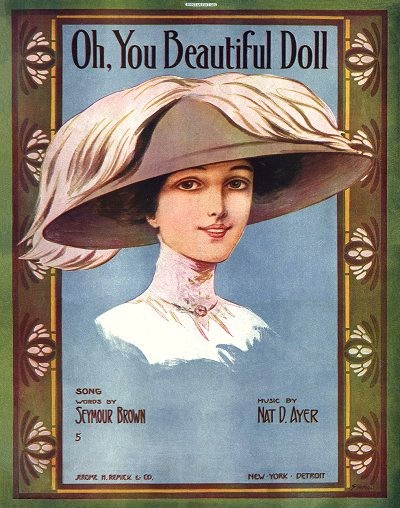 Old sheet music: Oh, You BeautifulDoll