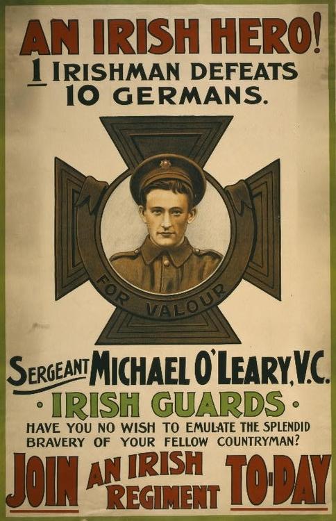 The Irish Guards, WWI
