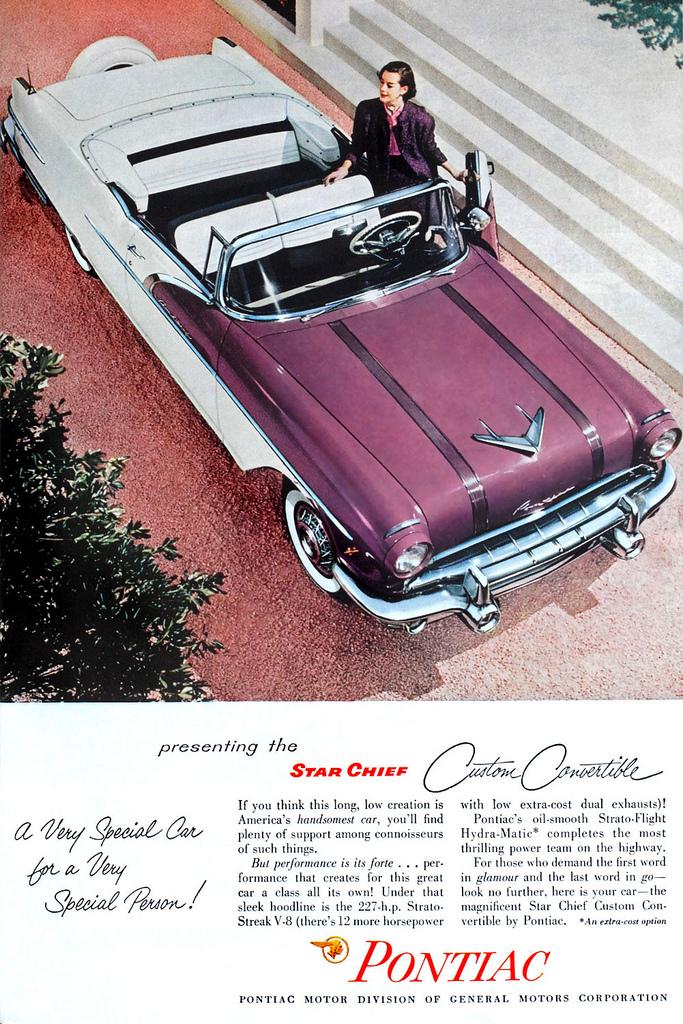 1956 Pontiac Star Chief CustomConvertible