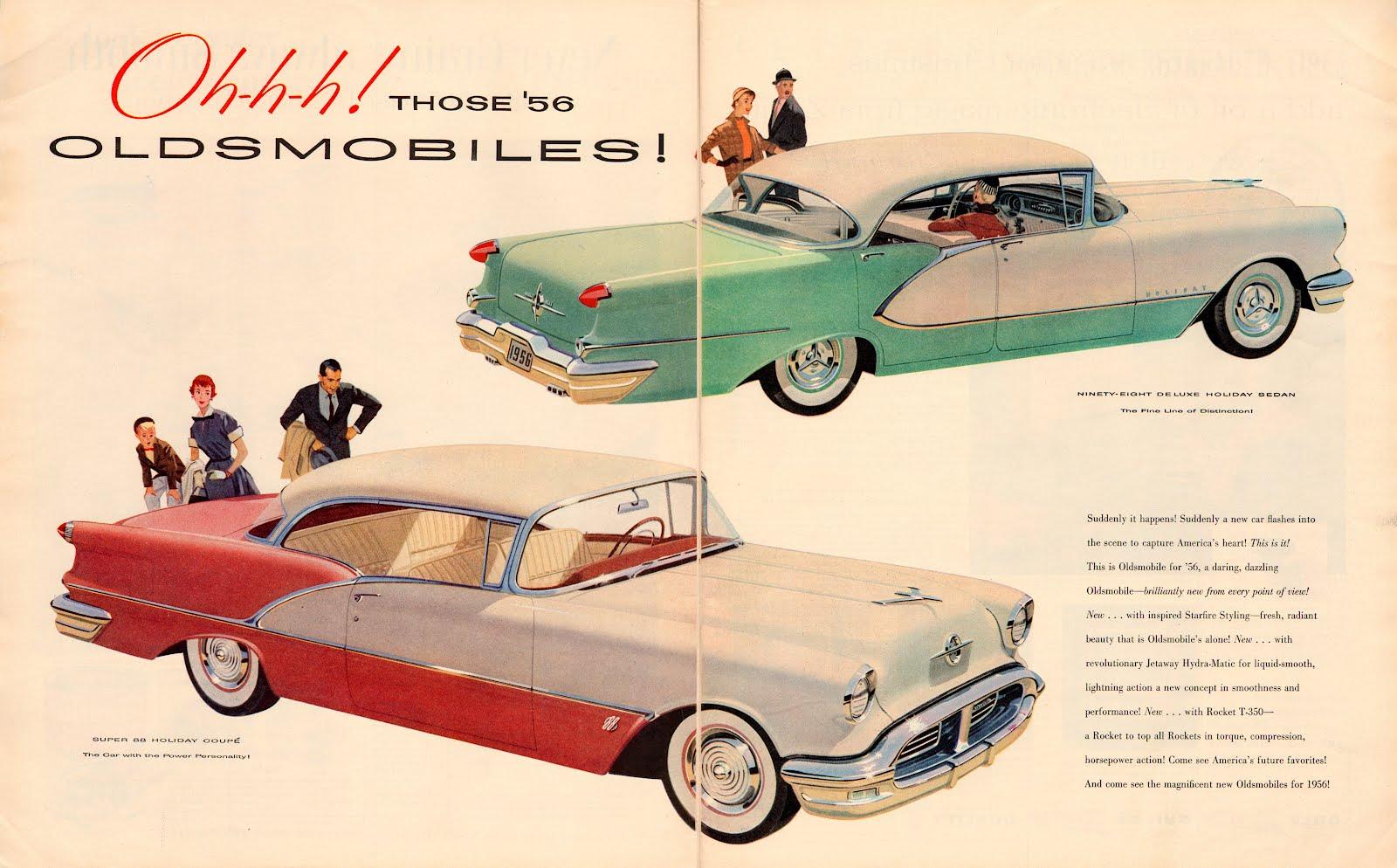 Ohhh! Those '56Oldsmobiles!