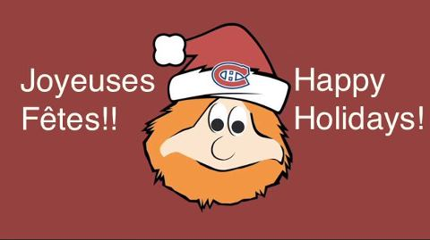 Happy Holidays from the MontrealCanadiens