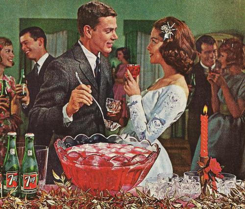 7 Up Christmas,1950s