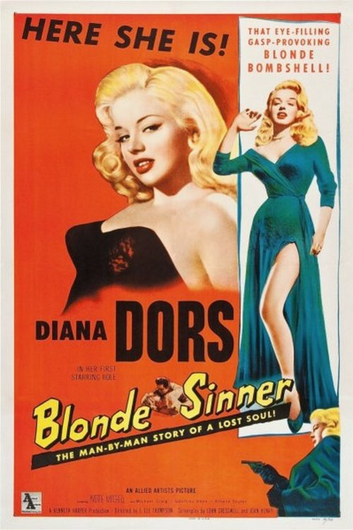 Here she is… The Blonde Sinner
