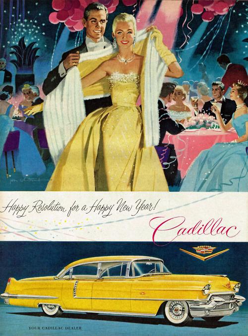 Happy New Year – 1956Cadillac