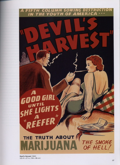 """A good girl, until she lights a """"reefer"""", the smoke ofhell!"""