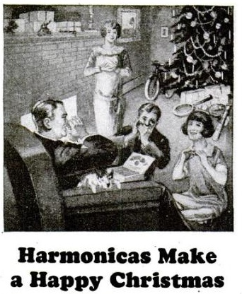 Harmonicas Make a Happy Christmas