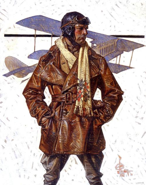 "Leyendecker ""The Aviator"",1910s"