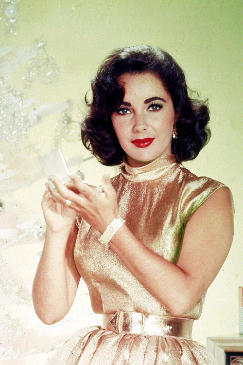 Merry Christmas from Saint Elizabeth Taylor