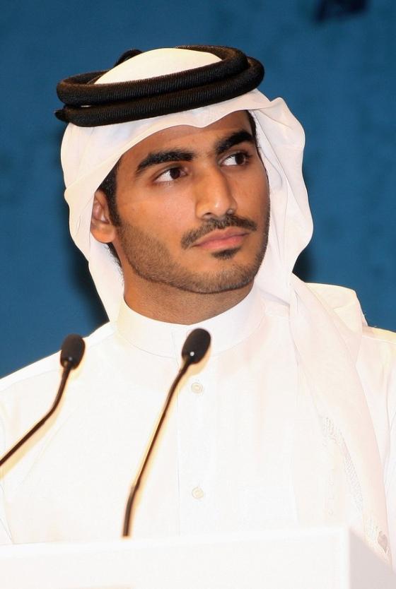 Qatar 2022 World Cup bid chairman, Sheik